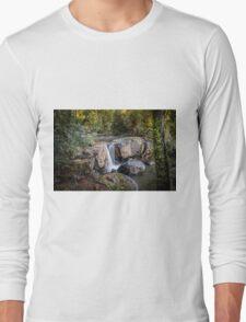 Guide Falls, Tasmania Long Sleeve T-Shirt