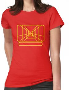 Stay on Target Womens Fitted T-Shirt