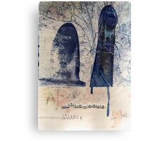 And Afterwards Silence Canvas Print