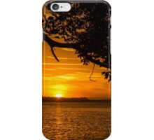 Shaded Sunset iPhone Case/Skin