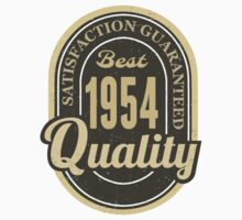 Satisfaction Guaranteed  Best  1954 Quality by rardesign