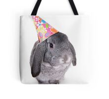 Birthday Rabbit Tote Bag