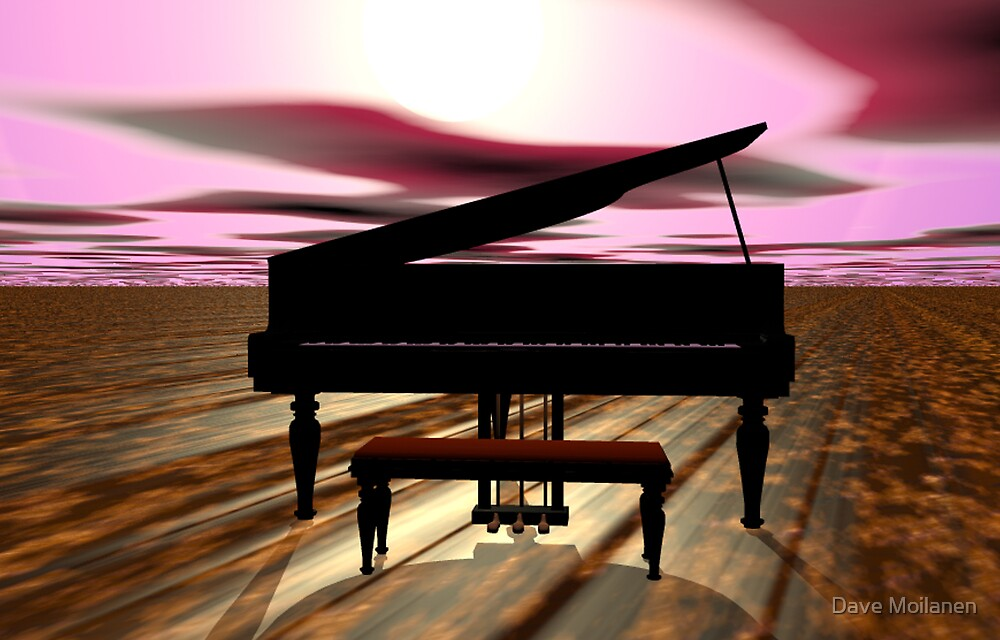 Sunset Sonata by Dave Moilanen