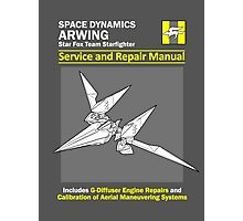 Arwing Service and Repair Manual Photographic Print
