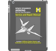 Arwing Service and Repair Manual iPad Case/Skin