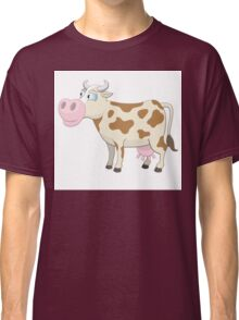 Friendly cartoon cow Classic T-Shirt