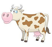 Friendly cartoon cow by berlinrob