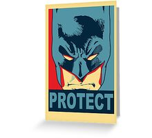 PROTECT Greeting Card
