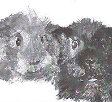 Guinea Pig Friends by guineapiglove