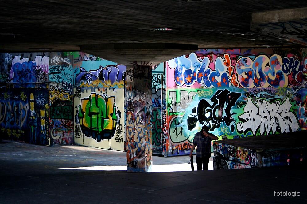 Skateboarder by fotologic