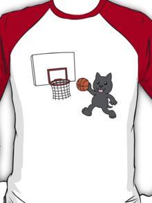 wolfpupy basketball T-Shirt