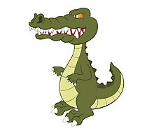 Funny cartoon crocodile Photographic Print