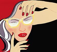 Revlon / Fashion Illustration by Mariska