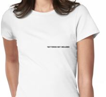 batteries not included Womens Fitted T-Shirt