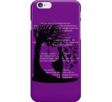 The Hanging Tree(Lyrics Version) - Hunger Games iPhone Case/Skin