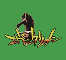 Neon Genesis Evangelion - Logo with Asuka Kids Tee