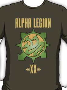 Alpha Legion XX - Warhammer T-Shirt