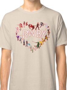 To RWBY With Love Classic T-Shirt