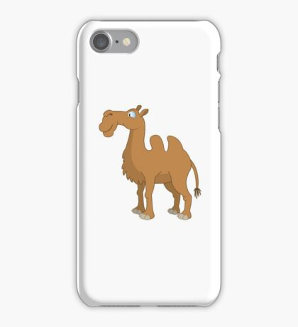 Funny cartoon camel iPhone Case/Skin
