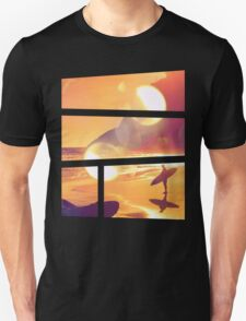 Dreaming of Sunset Surfing Unisex T-Shirt