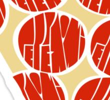 Pepperoni Sticker