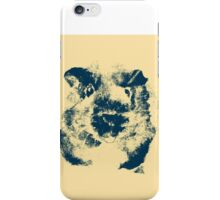 Guinea Pig Abstract Study iPhone Case/Skin