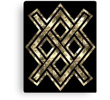 Gungnir, Odin's spear, Rune Gar, Viking, Magic, Protectiv Symbol Canvas Print