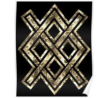 Gungnir, Odin's spear, Rune Gar, Viking, Magic, Protectiv Symbol Poster
