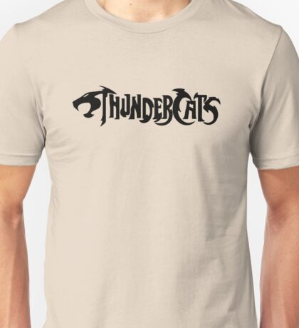 Thundercats Text Logo Unisex T-Shirt