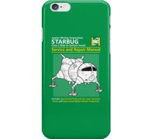 Starbug Service and Repair Manual iPhone Case/Skin