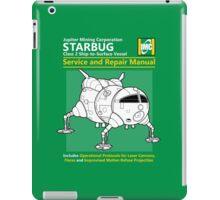 Starbug Service and Repair Manual iPad Case/Skin