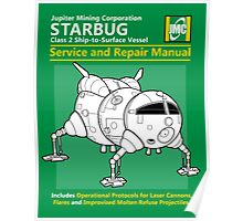 Starbug Service and Repair Manual Poster