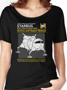 Starbug Service and Repair Manual Women's Relaxed Fit T-Shirt