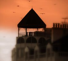Brighton Sunset by Dmarie Frankulin