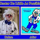 Dr D Portrait & Caricature, Before And After by tim100