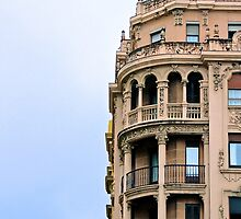 Renaissance Style Building - San Sebastian, Spain by Tiffany Lenoir