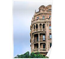 Renaissance Style Building - San Sebastian, Spain Poster