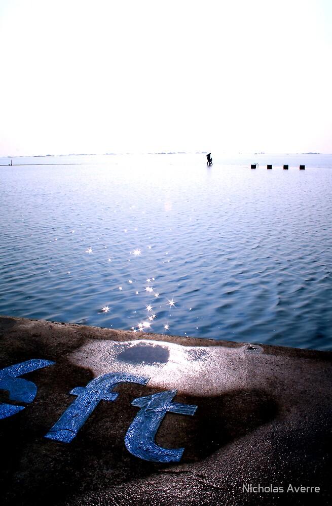 Walking on water by Nicholas Averre