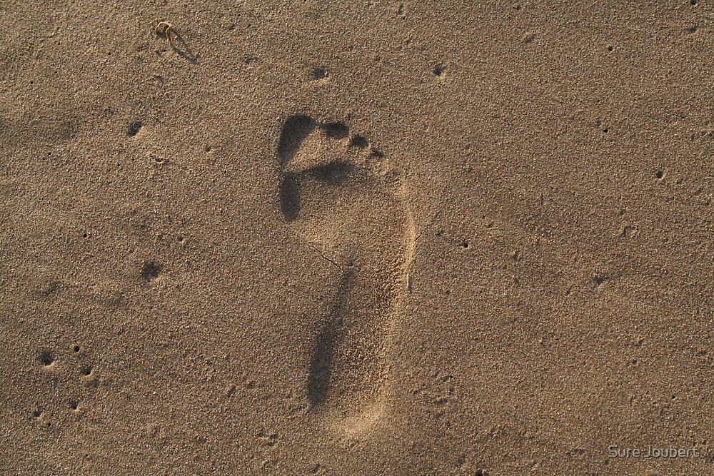 Footprint by Surè Joubert