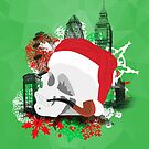 Skull Christmas - Green Mark II by KitsuneDesigns