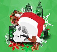 Skull Christmas - Green Mark II by KitsuneDesigns