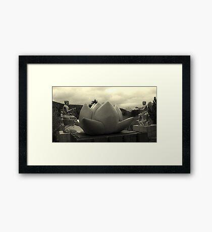 peaceful Framed Print