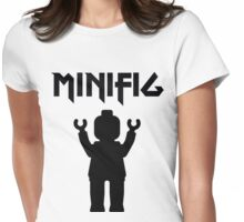 MINIFIG With Arms Up Womens Fitted T-Shirt