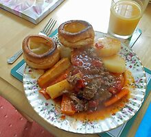 A Yorkshire Pudding Dinner by BlueMoonRose