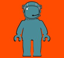 Banksy Style Astronaut Minifigure Kids Clothes