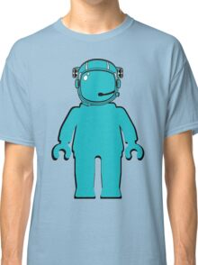 Banksy Style Astronaut Minifigure Classic T-Shirt