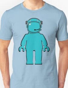 Banksy Style Astronaut Minifigure T-Shirt