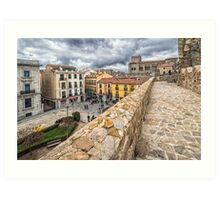 City of Avila Art Print