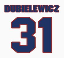 National Hockey player Wade Dubielewicz jersey 31 by imsport
