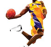 Kobe Bryant by Roland Bánrévi